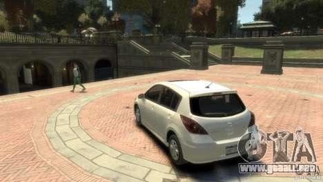 Nissan Versa SL para GTA 4 visión correcta