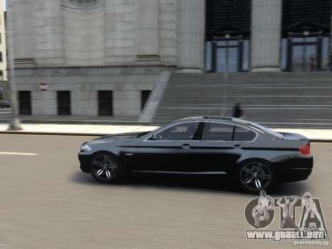 BMW 550i F10 para GTA 4 left