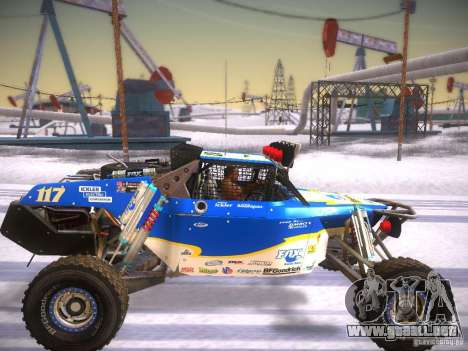 Ickler Jimco Buggy para GTA San Andreas vista posterior izquierda