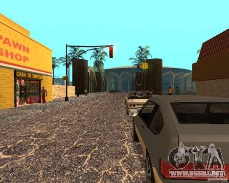 New Ghetto para GTA San Andreas segunda pantalla
