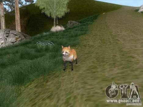 Wild Life Mod 0.1b para GTA San Andreas octavo de pantalla