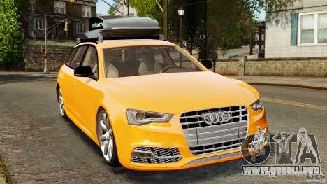Audi A6 Avant Stanced 2012 v2.0 para GTA 4