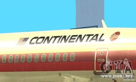 Boeing 707-300 para visión interna GTA San Andreas