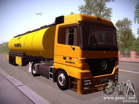 Mercedes-Benz Actros Rosneft para GTA San Andreas