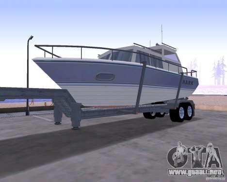 Boat Trailer para GTA San Andreas