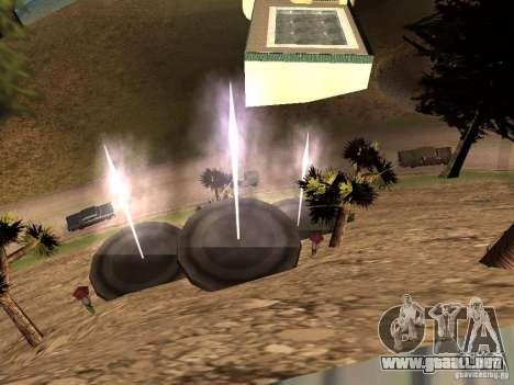 Reteksturirovannyj casa CJeâ V1 para GTA San Andreas sucesivamente de pantalla
