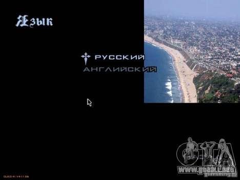 Nuevo menú al estilo de Los Ángeles para GTA San Andreas sexta pantalla