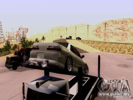 Nissan 240SX (S13) para GTA San Andreas vista hacia atrás