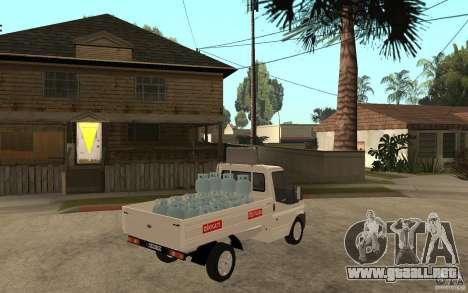 Ford Transit Pickup 2008 para la visión correcta GTA San Andreas