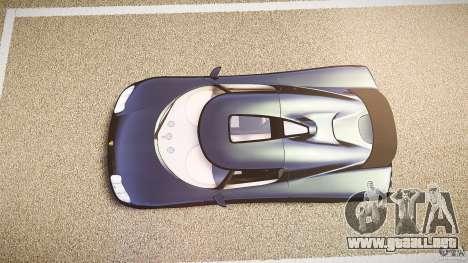 Koenigsegg CC8S 2002 para GTA 4 visión correcta