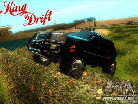 Toyota Land Cruiser v100 para GTA San Andreas left