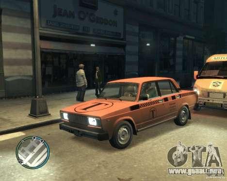 VAZ 2105 Taxi para GTA 4