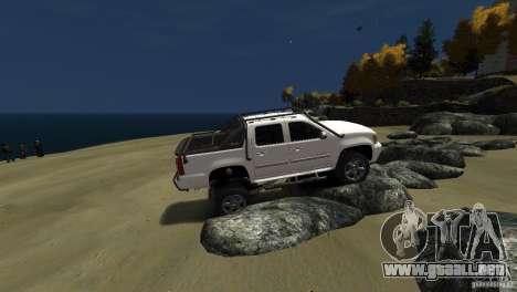 Chevrolet Avalanche 4x4 Truck para GTA 4 vista hacia atrás