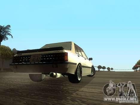 Mitsubishi Lancer EX Turbo 1983 para la visión correcta GTA San Andreas