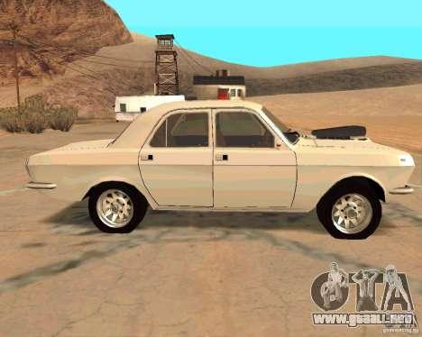 GAZ Volga 2410 caliente Road para vista lateral GTA San Andreas
