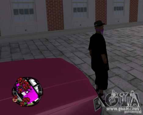 New Ballas Skin para GTA San Andreas quinta pantalla