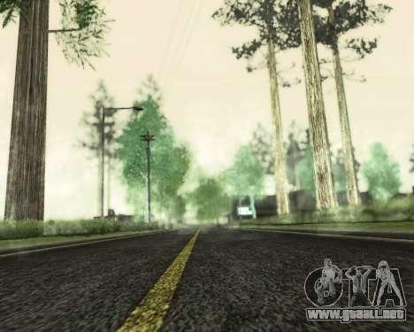 SA_NVIDIA v1.0 para GTA San Andreas tercera pantalla