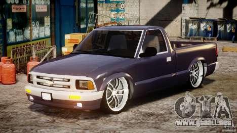 Chevrolet S10 1996 Draggin [Beta] para GTA 4