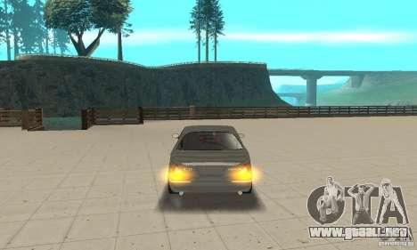 Luces de esquina universal para GTA San Andreas tercera pantalla