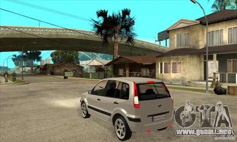 Ford Fusion 2009 para GTA San Andreas vista posterior izquierda