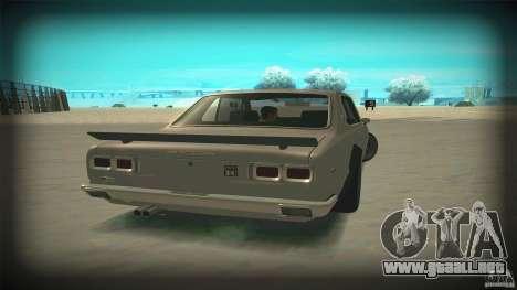 Nissan Skyline 2000GT-R JDM Style para visión interna GTA San Andreas