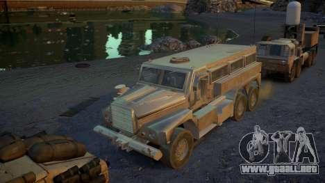 HEMTT Phalanx Oshkosh para GTA 4