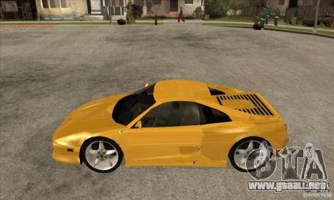Ferrari F355 GTS para GTA San Andreas left
