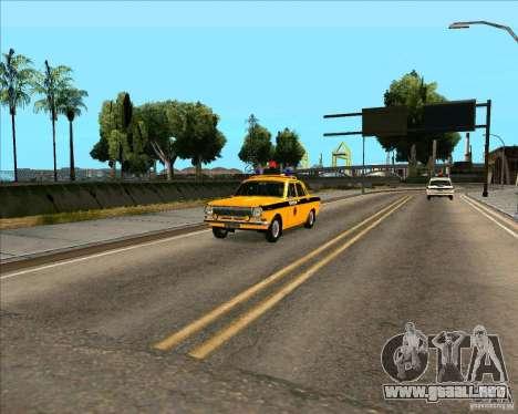 Versión de servicios de la ciudad 2 para GTA San Andreas segunda pantalla