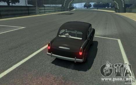 Moskvitch 407 v2.0 para GTA 4 visión correcta