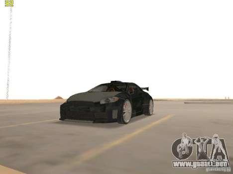 Mitsubishi Eclipse GT NFS-MW para GTA San Andreas