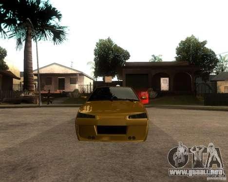 VAZ 21099 coche Tuning para la visión correcta GTA San Andreas