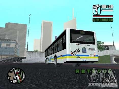 Onibus para GTA San Andreas vista hacia atrás