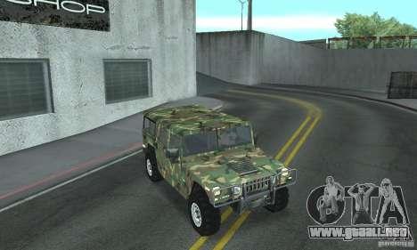Hummer H1 para el motor de GTA San Andreas