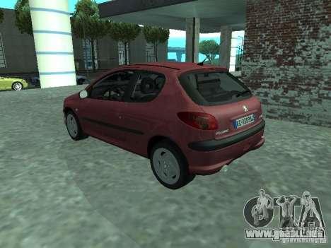 Peugeot 206 HDi 2003 para GTA San Andreas left