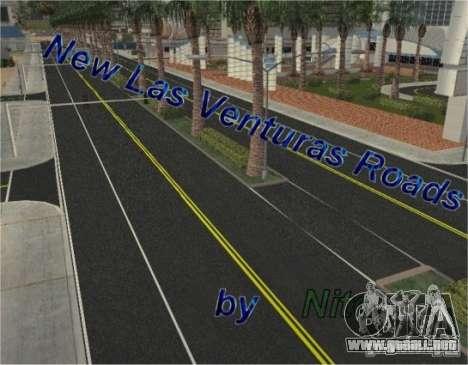 Nuevos caminos en Las Venturas para GTA San Andreas
