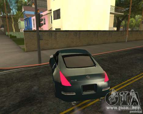 Nissan 350Z Tunable para GTA San Andreas left