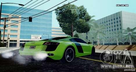 Audi R8 Light Tuned Version para GTA San Andreas left