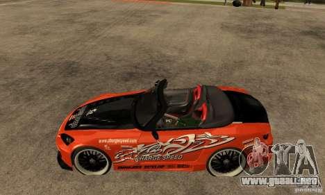 Honda S2000 CHARGESPEED para GTA San Andreas left