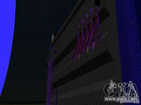 Kenwort T800 Carlile para la visión correcta GTA San Andreas