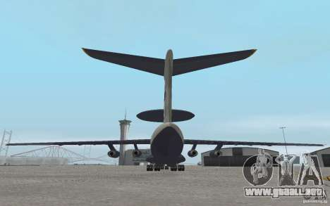 Berijew A-50 Mainstay para la visión correcta GTA San Andreas
