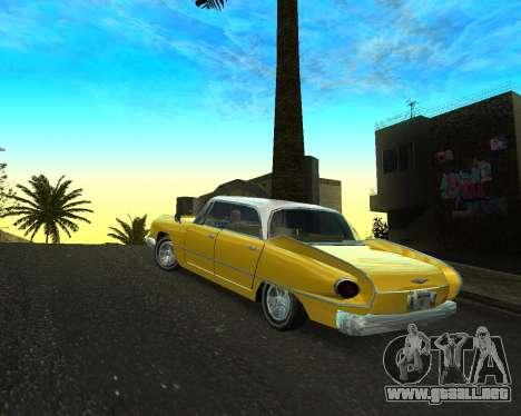 Dodge Polara para GTA San Andreas left