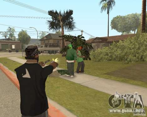 Mark and Execute para GTA San Andreas sucesivamente de pantalla