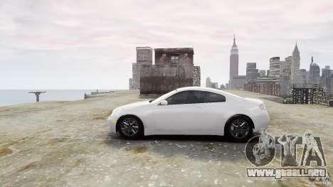 Infiniti G35 para GTA 4 left