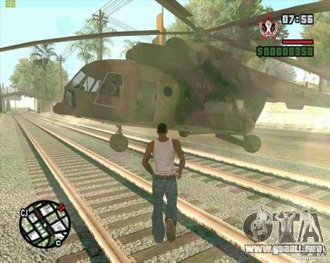 Cargobob llamada para GTA San Andreas