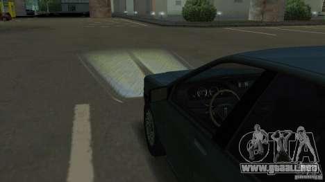 Faros halógenos para GTA San Andreas quinta pantalla