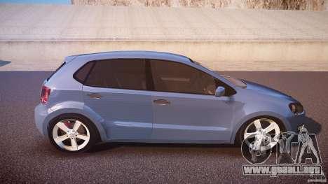 Volkswagen Polo 2011 para GTA 4 vista lateral