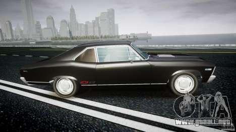 Chevrolet Nova 1969 para GTA 4 vista interior
