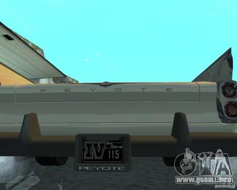 Peyote de GTA 4 para la visión correcta GTA San Andreas