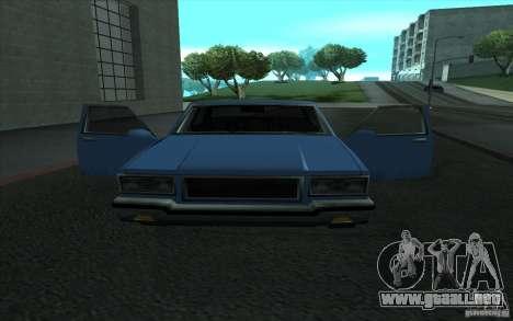 Civilian Police Car LV para GTA San Andreas vista posterior izquierda