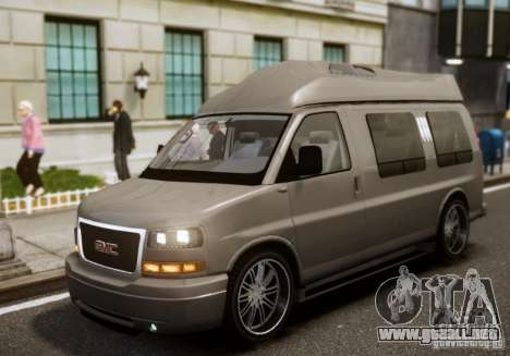 GMC Savana para GTA 4 vista interior